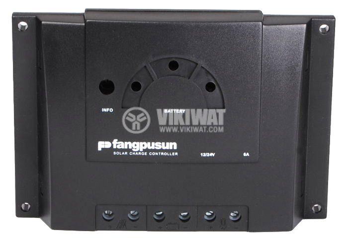Solar chгarge regulator, 6 A, 12 V / 24 V, function day/night - 1