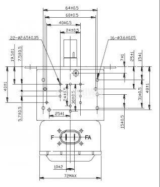 Magnetron 945 W, YS-WBL12A-920J  - 4