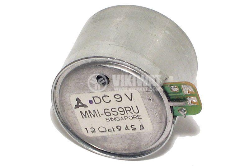 Електрически  постояннотоков мотор MMI - 6S6R,  9 VDC, R - 1