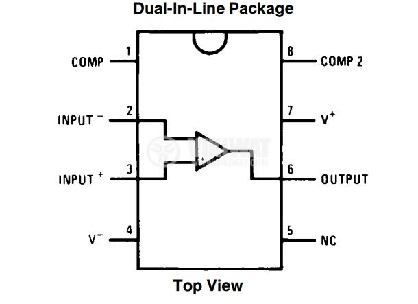 LM308N Operational amplifier - 2