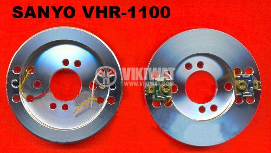 Video head SANYO VHR 1100  - 3