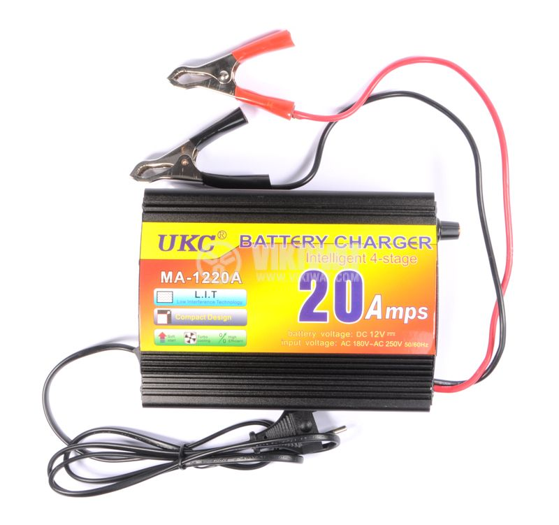 Battery charger MA-1220A, 220VAC, 12VDC, 20A - 3