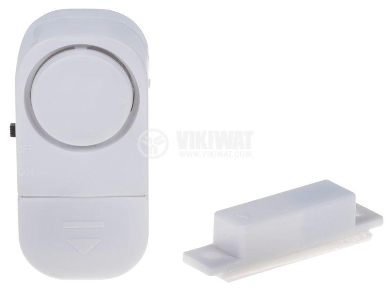 Домашна аларма за врата (прозорец) RL 9805A, със звукова сигнализация