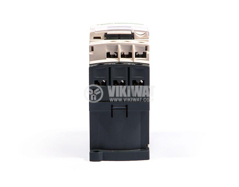 Contactor, LC1D09BD, 3P, 9A, 24VDC, 2.2kW, 4kW, NO + NC - 4
