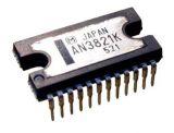 IC AN3821K, VCR capstan motor drive, DIL24
