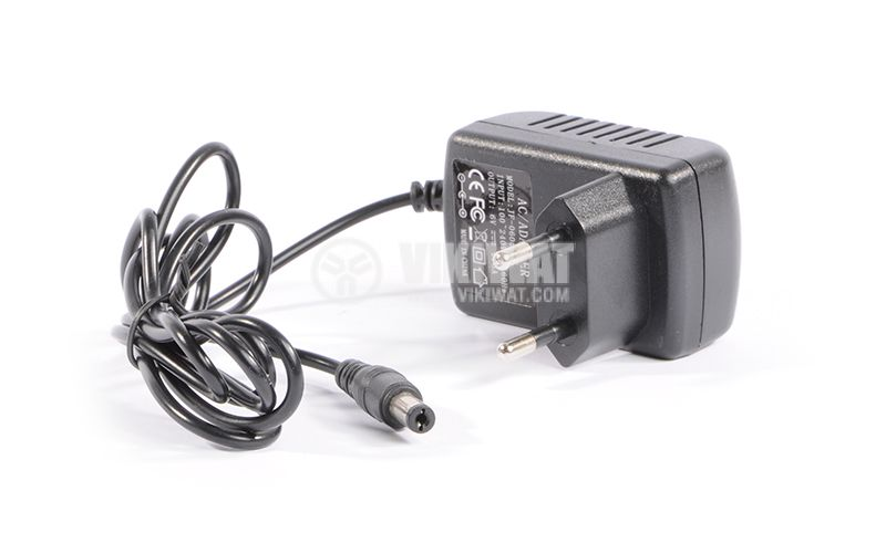 Adapter 100-240 VAC to 6 VDC, 0.5 A, 5.5 x 2.5 mm - 2