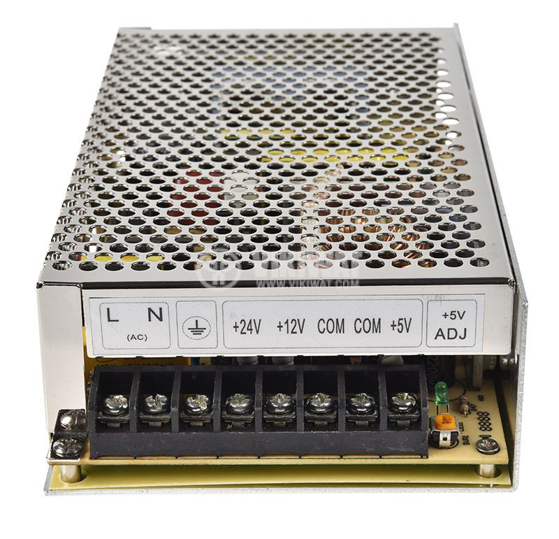 Triple output switching power supply 24VDC/2A - 3