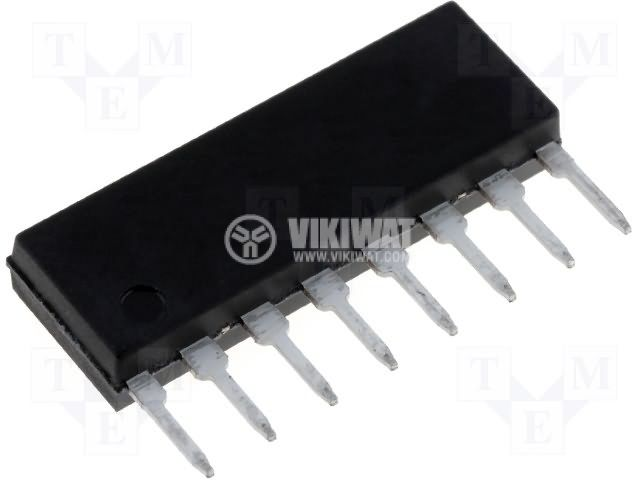 BA514, audio amplifier, SIL8 - 1