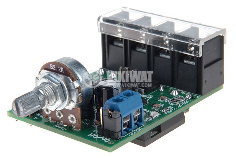 DC motor controller PWM DC 1500W, 180V/50A  - 1