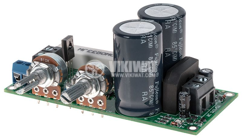 Switching Power supply, 0-30V, 0-5A, 24VAC/5A - 1