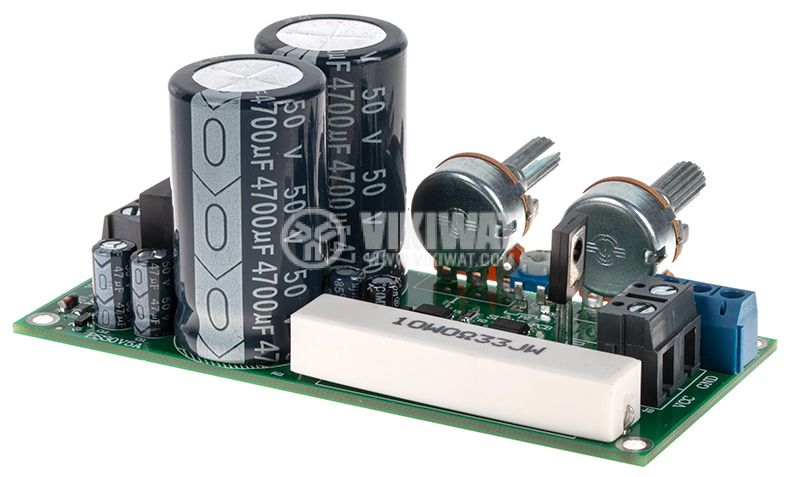 Switching Power supply, 0-30V, 0-5A, 24VAC/5A - 2