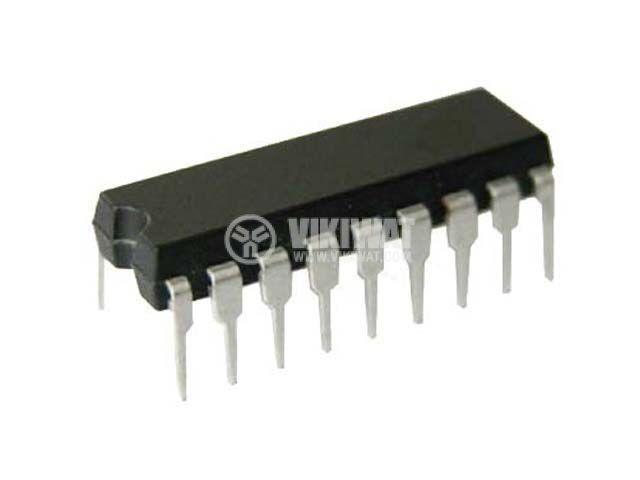 Интегрална схема BA3520, аудио предусилвател/усилвател, DIP18