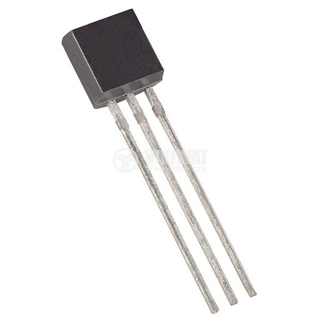 Интегрална схема DS1820, температурен сензор,  – 55°C до + 125°C