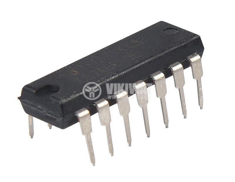 Интегрална схема CD74HC00E, NAND gate, DIP14