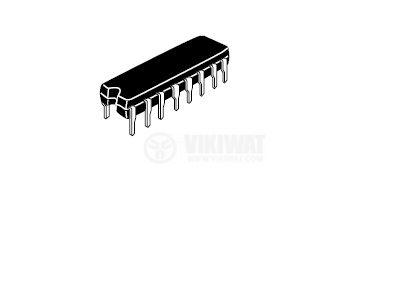 Интегрална схема HA12136 Dolby B-Type Noise Reduction System;  DIP 16