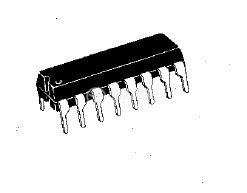 Интегрална схема HA1197, AM radio receiver, DIP16