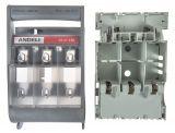 Галваничен разделител HR18-160 за керамични предпазители, тип табло