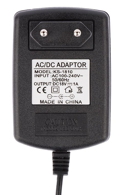 Адаптер, 18VDC, 1A, 18W. 100-240VAC, стабилизиран, SNP-KO39-H - 4
