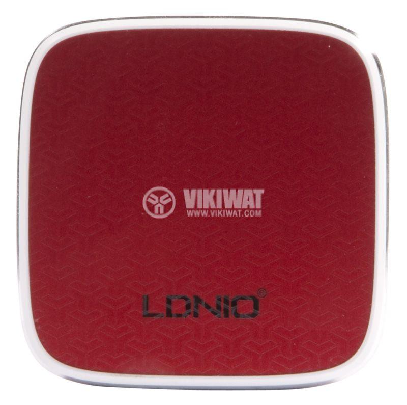 Зарядно устройство 220VAC, LDNIO A2405Q, с Micro USB - 3