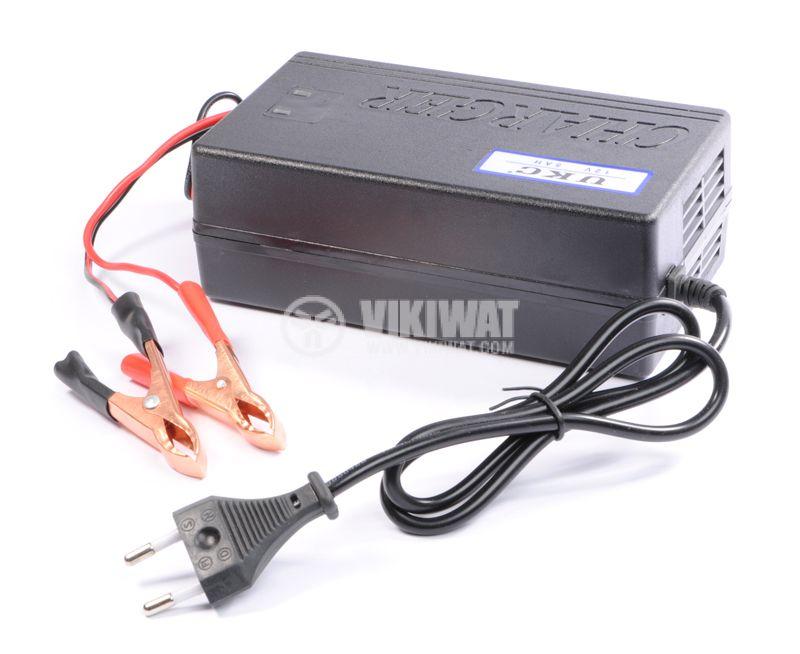 Зарядно устройство за акумулатор импулсно MA-1205A, 220VAC, 12VDC, 5A - 1