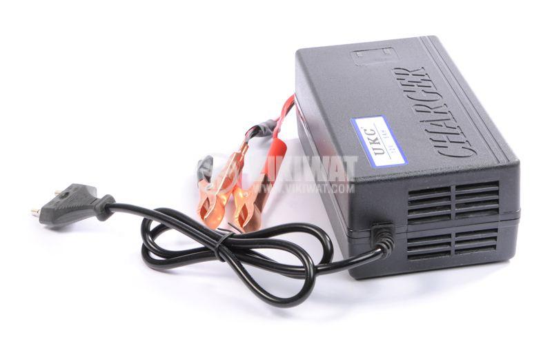 Зарядно устройство за акумулатор импулсно MA-1205A, 220VAC, 12VDC, 5A - 2