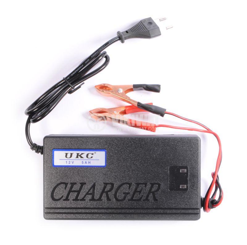 Зарядно устройство за акумулатор импулсно MA-1205A, 220VAC, 12VDC, 5A - 3