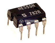 Интегрална схема 555, таймер, DIP8