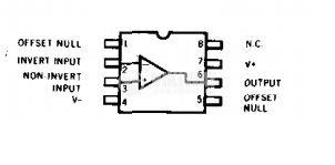 Интегрална схема uA741 операционен усилвател SMD  - 2