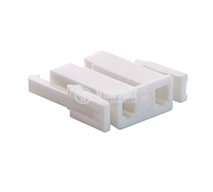 Connector female, VF75005-2Y, 2 pins - 1