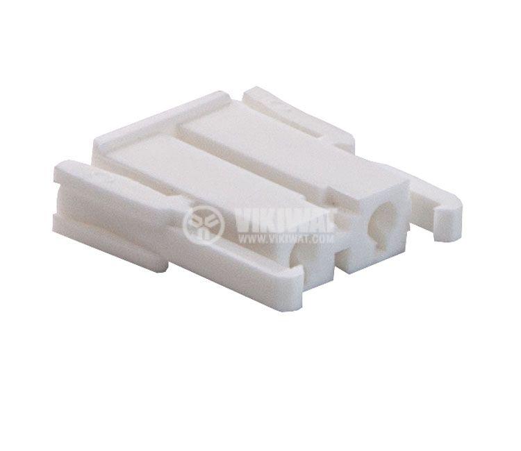 Connector female, VF75005-2Y, 2 pins - 3