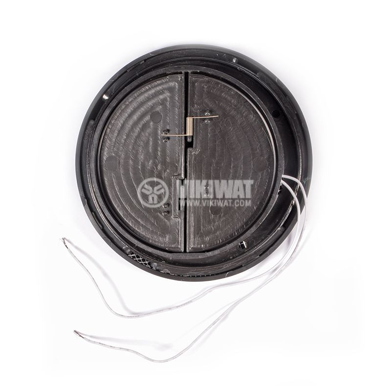 Fan MM100 with internal rotor, 220 VAC, 16 W, Ф145x76 mm, with vent, black - 4