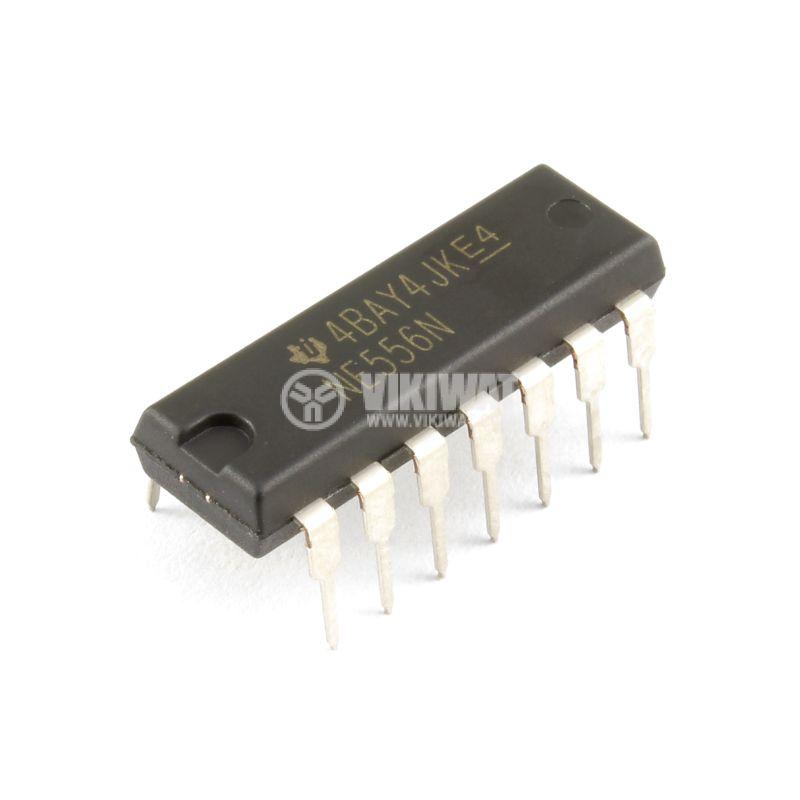 Интегрална схема NE556N 500kHz 16V - 1