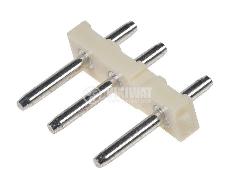 Конектор мъжки, VF75006-3А, 3 пина - 2