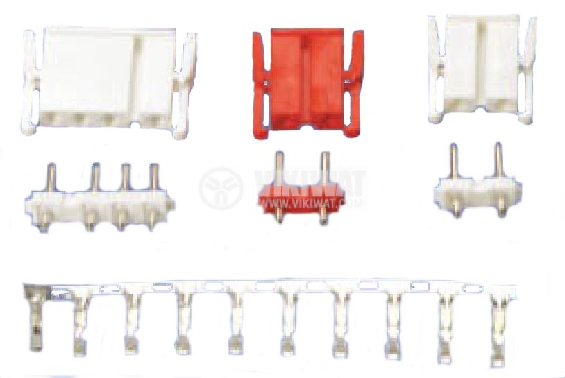 Connector, male, VF75006-4А, 4 pins - 2