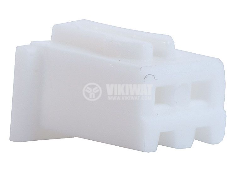 Connector female, VF25002-2Y, 2 pins - 1