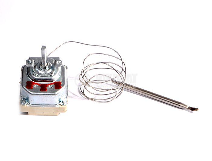 Терморегулатор, капилярен, WY90-653-28TH, от +30°C до +90°C, 3NC, 16 A / 380 VAC - 5