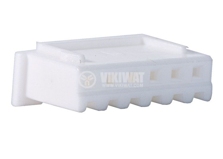 Конектор за обемен монтаж женски, VF25002-6Y, 6 пина - 1