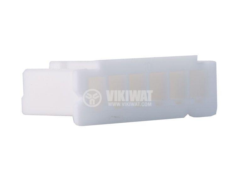 Connector female, VF25002-6Y, 6 pins - 3