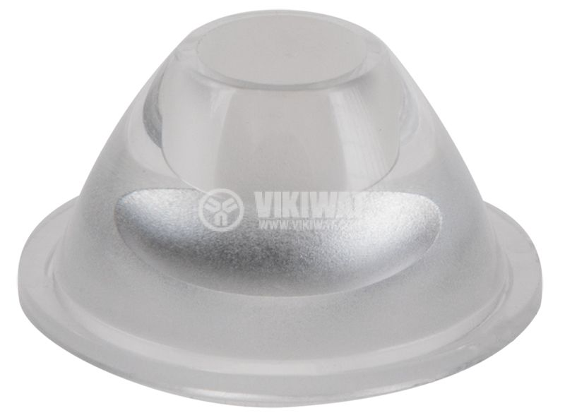 LED оптика, кръгла, прозрачна, самозалепваща лента, OSOLRA2015M, OPTOSUPPLY - 1