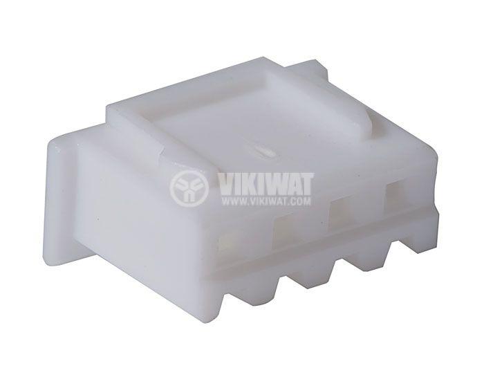 Connector female, VF25002-4Y, 4 pins - 1