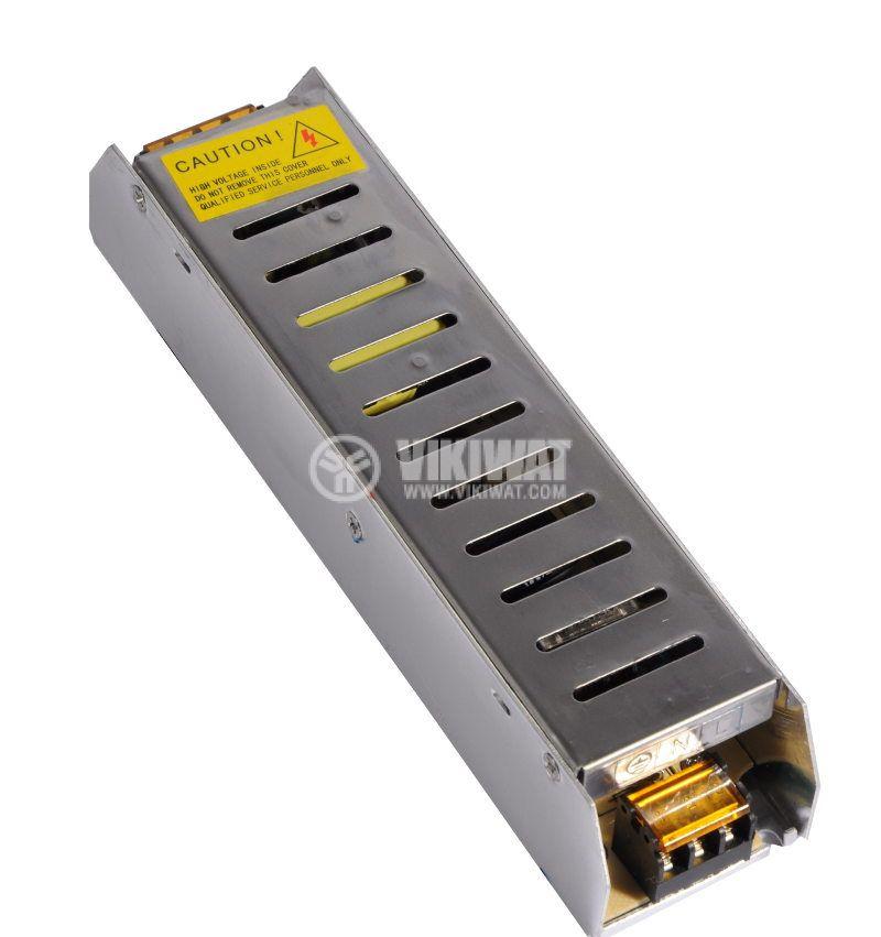 Захранващ блок, BY02-1000, 220VAC-12VDC, 8.5A, 100W, IP20 - 3