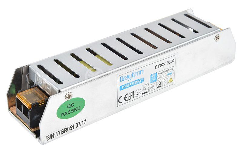 LED захранване 24VDC, 60W, 2.5A, IP20, BY02-10600 - 3
