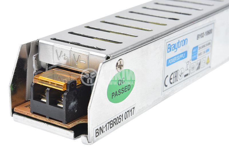 LED захранване 24VDC, 60W, 2.5A, IP20, BY02-10600 - 4