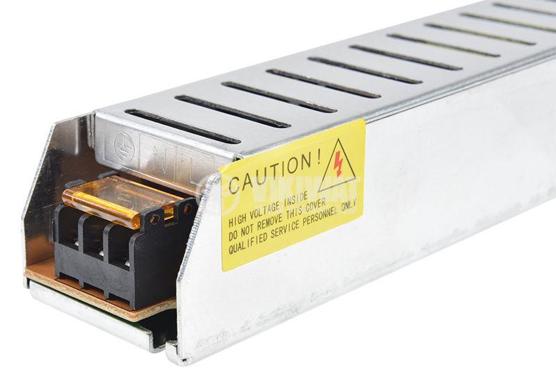 LED захранване 24VDC, 60W, 2.5A, IP20, BY02-10600 - 5