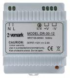 Захранващ блок за DIN шина 12VDC, 2.5A, 30W, VDR30-12