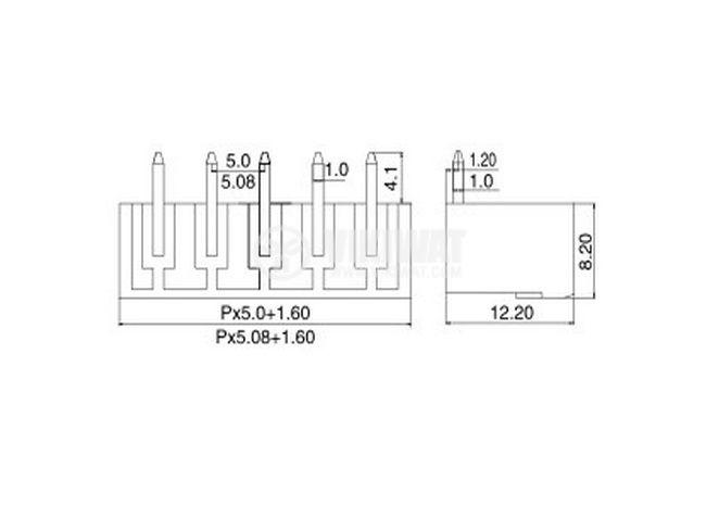 PCB,terminal,block - 2