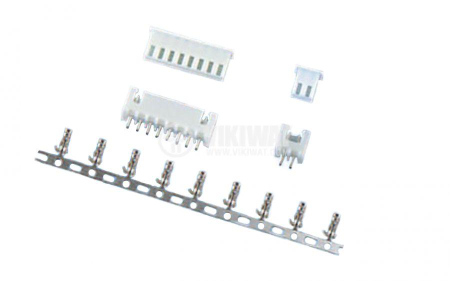 Конектор за обемен монтаж женски, VF25002-3Y, 3 пина - 3