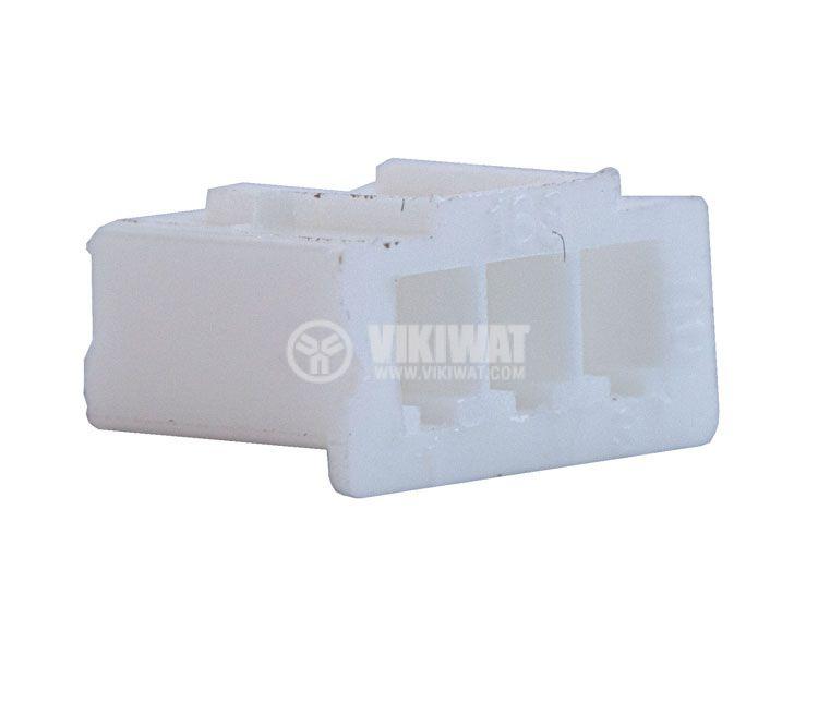 Конектор за обемен монтаж женски, VF25002-3Y, 3 пина - 1