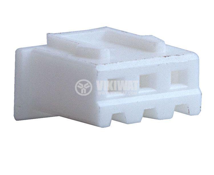 Конектор за обемен монтаж женски, VF25002-3Y, 3 пина - 4