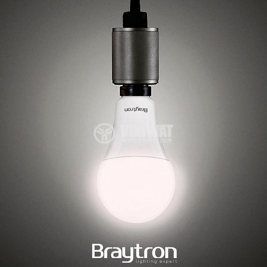 LED bulb 12W, E27, A60, 220VAC, 1055lm, 3000K, warm white, BA13-01220 - 3